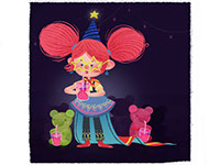 Beatrix, an illustration style for childrens' books by Tadaa Book
