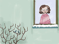 Lily, an illustration style for childrens' books by Tadaa Book