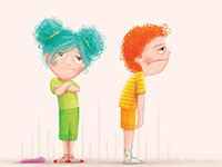 Marry, an illustration style for childrens' books by Tadaa Book