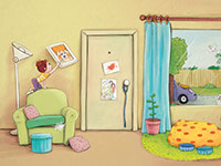 Teddy, an illustration style for childrens' books by Tadaa Book
