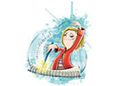 Splash, an illustration style for childrens' books by Tadaa Book